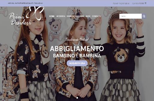 Primidesideri.it - Negozio Abbigliamento Online Bambini