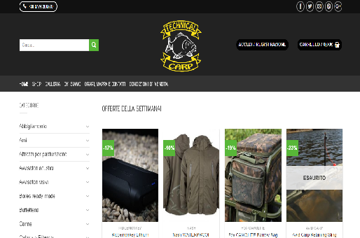 Technicalcarp.it - Negozio CarpFishing Online