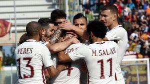Roma Crotone - Giornata 24 del campionato di Serie A
