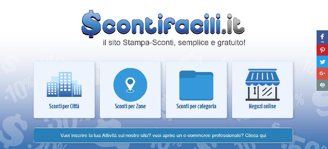 ScontiFacili.it - Sconti e Buoni Sconto a Roma