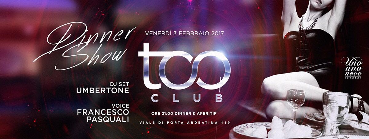 Too Club Venerdì Discoteca Roma