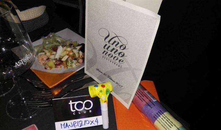 Too Club + Uno Uno Nove Restaurant - Recensione e Opinioni