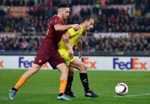 Roma Villareal Sedicesimi di finale di Europa League