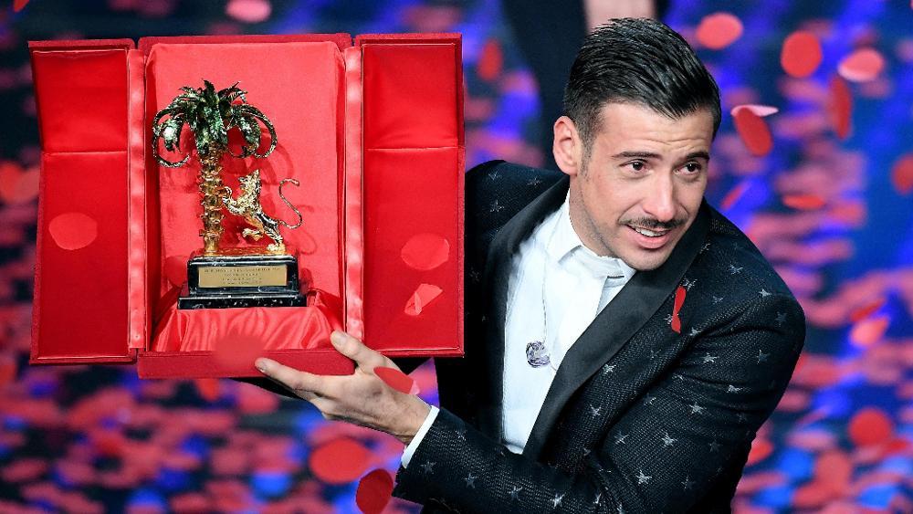 Vincitore Festival di San Remo 2017 - Francesco Gabbiani