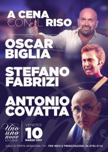 Cabaret Roma Too Club - Venerdi 10 Marzo 2017