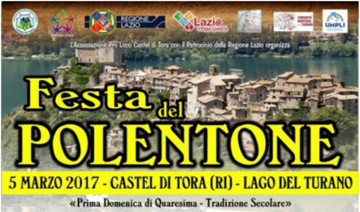 Castel di Tora Festa del Polentone Domenica 5 Marzo