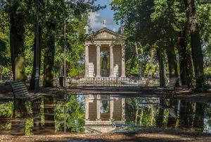 villa borghese a roma 1