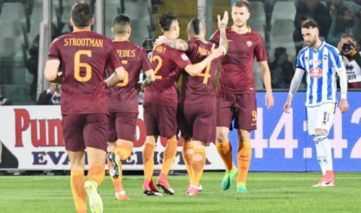 Pescara Roma 33 Giornata di Campionato di Serie A