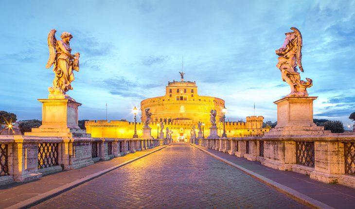 la fortezza di castel sant'angelo