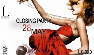 Too Club - Oggi Domenica 28 Maggio presenta Closing Party