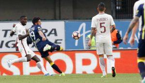 Chievoverona Roma 37 Giornata di Campionato di Serie A