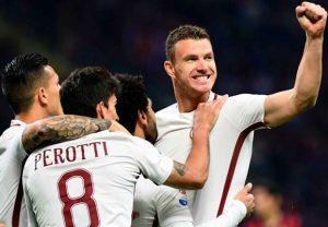 Milan Roma 35 Giornata del Campionato di Serie A