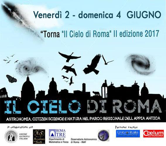 Il cielo di roma 2017 tre giorni di immersione nella for Tre giorni per il giardino 2017