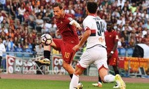 Roma Genoa 38 Giornata del Campionato di Serie A