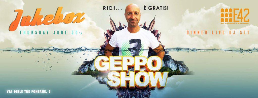 E42 roma - Geppo show