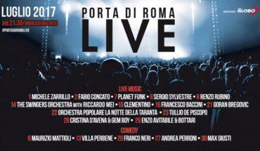 Locandina Ufficiale - Porta di Roma Live 2017