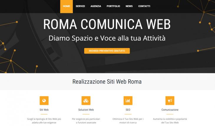 Realizzazione Siti Internet Roma - RomaComunicaWeb.it