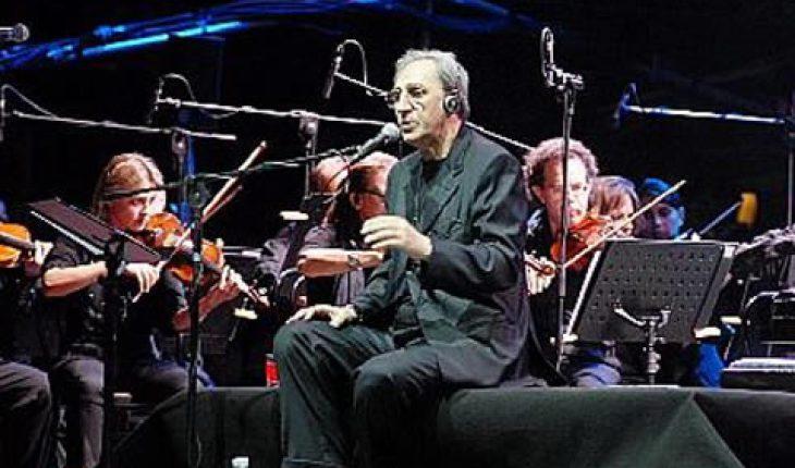 Franco Battiato concerto con la Royal Philharmonic Concert Orchestra Roma 26 Giugno 2017