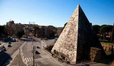 visita alla piramide cestia di roma