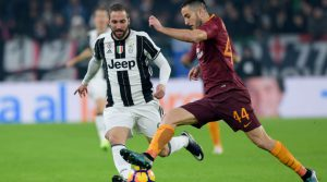 Roma Juventus una sfida dal sapore scudetto