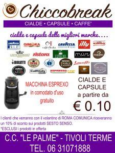 Cialde Capsule Caffè Tivoli - Da ChiccoBreak Prezzi Incredibili!