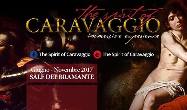 The Spirit of Caravaggio immersive experience