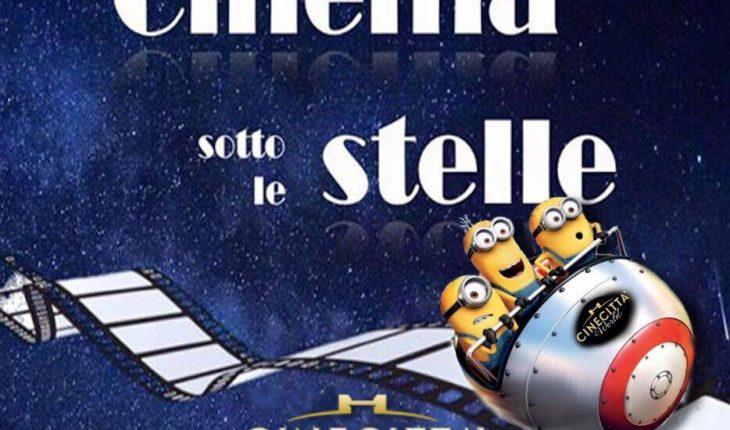 cinema sotto le stelle a cinecitta world