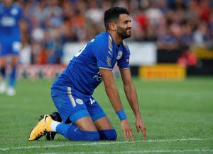 Calciomercato AS Roma Mahrez trattenuto al Leicester