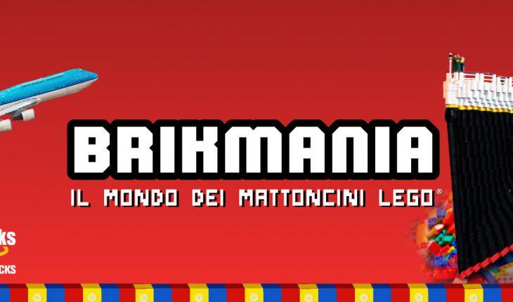 Brikmania mostra LEGO Roma - Locandina