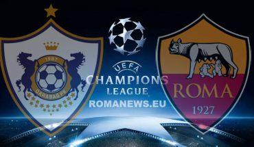 Qarabag Roma Champions League 2 Turno
