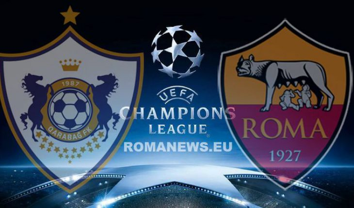 Qarabag Roma Champions League 2 Turno