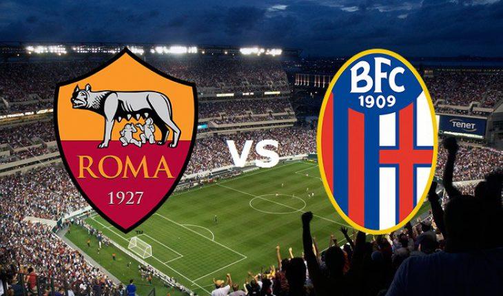 Roma Bologna 11 Giornata del Campionato di Serie A
