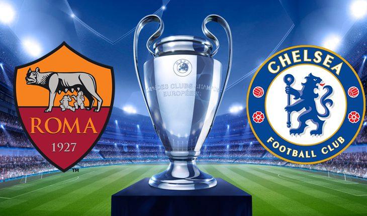 Chelsea Roma 3 Turno di Champions League Ritorno