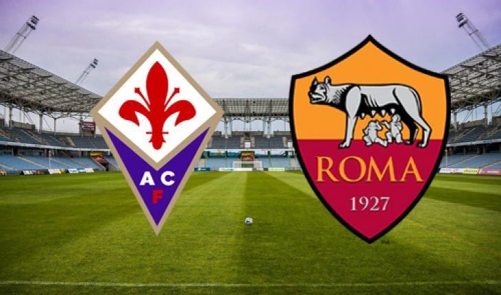 Fiorentina Roma 12 Giornata del Campionato di Serie A