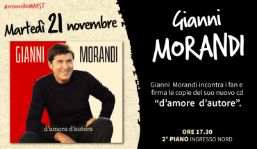 Gianni Morandi a Romaest