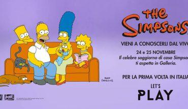 Simpson a Porta di Roma