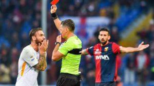 Genoa Roma 14 Giornata del Campionato di Serie A