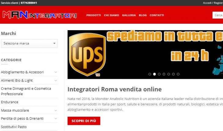 Negozio integratori Roma