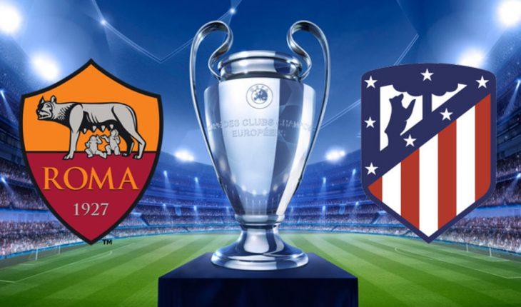 Atletico Madrid Roma 1 Turno di Champions League Ritorno