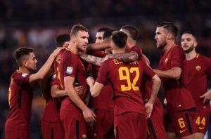 Roma Spal 15 Giornata del Campionato di Serie A