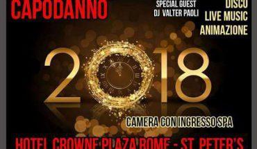 Capodanno Crowne Plaza 2018