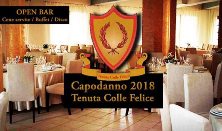 Capodanno Tenuta Colle Felice 2018
