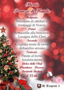 Pranzo di Natale Roma - Ristorante il Trapezio 2