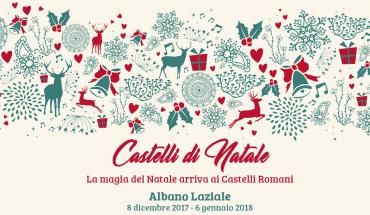 castelli di natale Albano Laziale