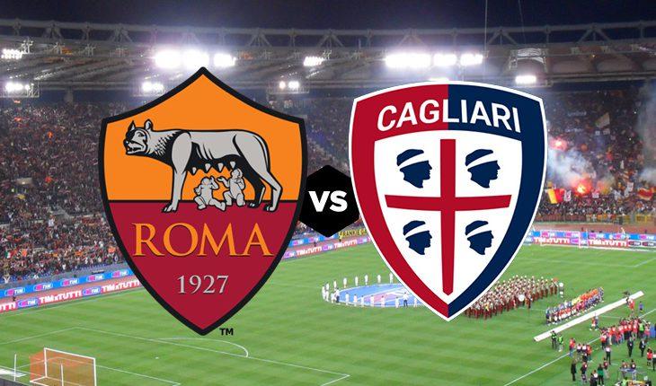 Roma Cagliari 17 Giornata del Campionato di Serie A
