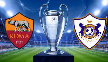 Roma Qarabag 3 Turno di Champions League Ritorno