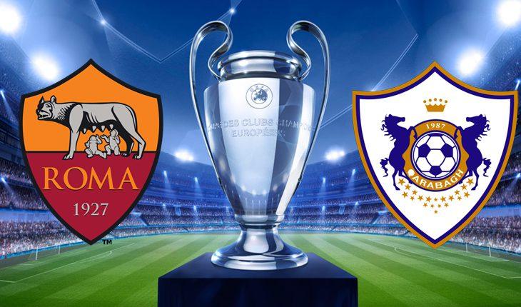 Roma Qarabag 3 Turno di Champions League Ritorno