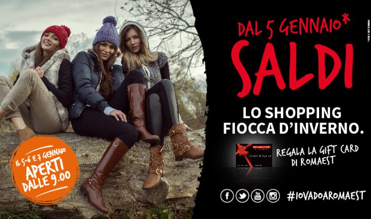 Iniziano il 5 gennaio i saldi roma est per lo shopping for Arredamento roma est