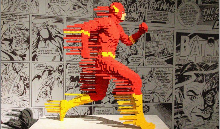 Supereroi mostra LEGO Roma