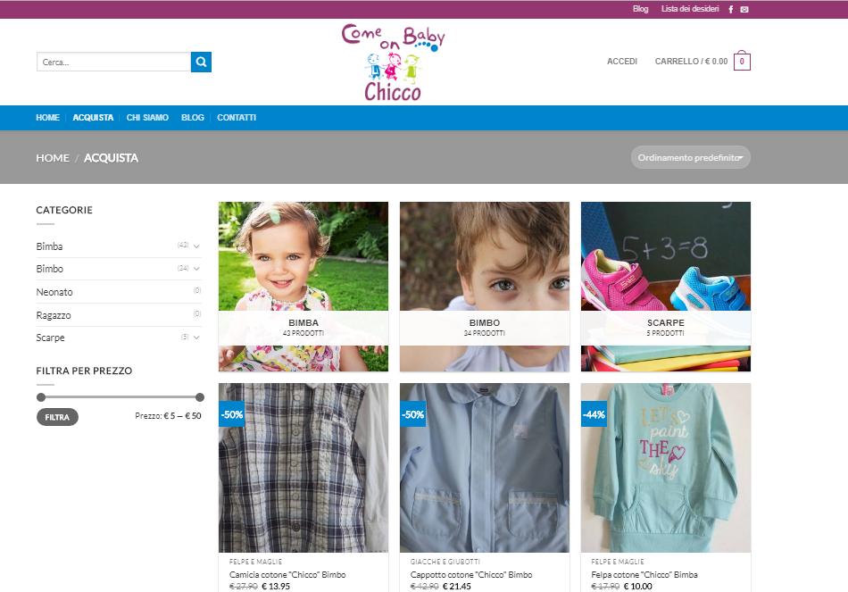 abbigliamento bambini Anagni